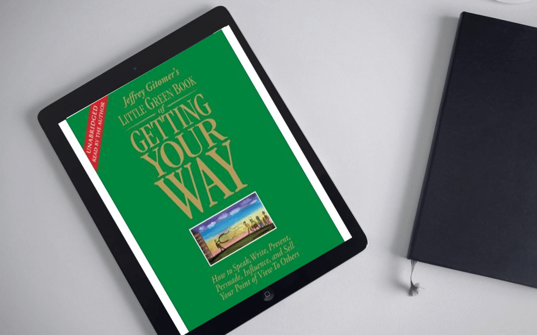 Book Review: Little Green Book of Getting Your Way