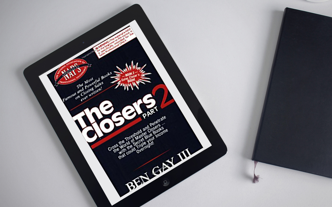 Book Review: The Closers Part 2 by Ben Gay III