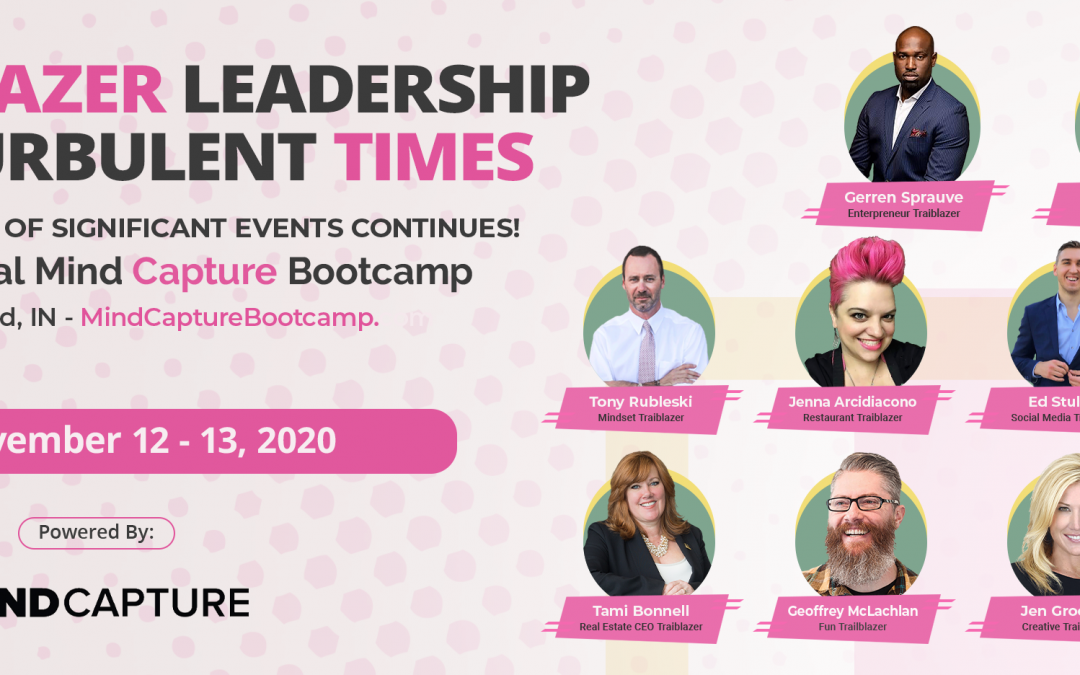 """Mind Capture Bootcamp 2020: Meet this Year's """"Live Event"""" Speakers!"""
